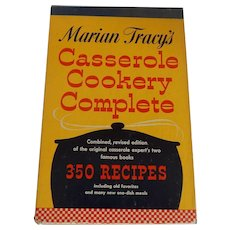 Marian Tracy's Casserole Cookery Complete 1956