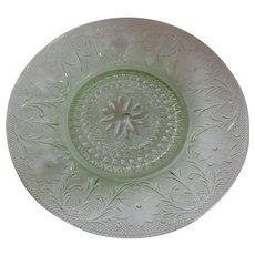 Tiara Exclusives Sandwich Chantilly Green Dinner Plate