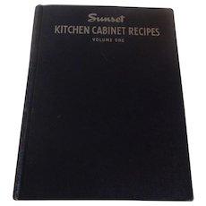 Sunset Kitchen Cabinet Reicpes Volume One