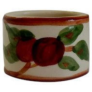Franciscan Dinnerware Apple Napkin Ring USA