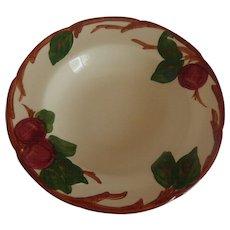 Franciscan China Apple Rimmed Soup Bowl US