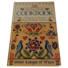 Hearts & Flours Cookbook Junior League Of Waco Texas