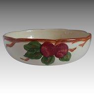 Franciscan Earthenware Apple Bowl USA