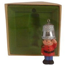 Hallmark Thimble A Christmas Salute 1979 Ornament