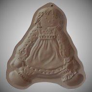 Brown Bag Cookie Art Raggedy Ann Mold