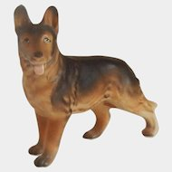 German Shepherd Dog Figurine Japan