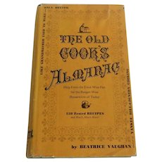 The Old Cooks ALmanac Cookbook 1966