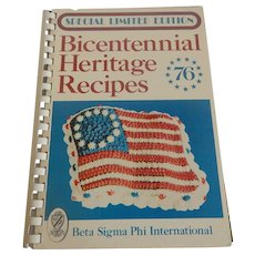 Bicentennial Heritage Recipes 1976