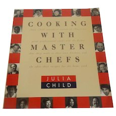 Cooking With Master Chefs by Julia Child