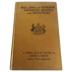 Bull Cook  Cookbook  by George Herter