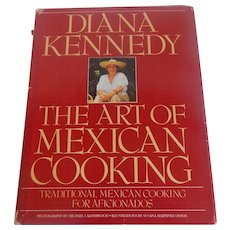 The Art Of Mexican Cooking Diana Kennedy