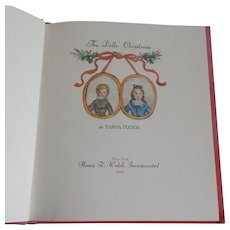 Doll Christmas Illustrated by Tasha Tudor