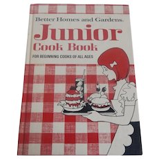 Better Homes and Gardens Junior Cook Book