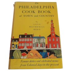 The Philadelphia Cook Book of Town and Country by Anna Weherill Reed