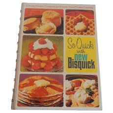So Quick with New Bisquick 1967 Second Edition