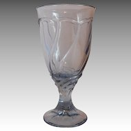 Noritake Blue Sweet Swirl Ice Tea Goblet