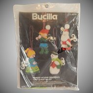 Bucilla  Wind Up Toys Christmas Ornaments Needlecraft  Kit