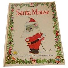 Santa Mouse by Michael Brown