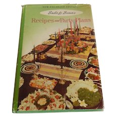 Recipes and Party Plans by Sadie Le Sueur