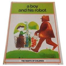 A Boy And His Robot by J. L. Garcia Sanchez