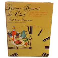 Dinner Against The Clock Madeleine Kamman