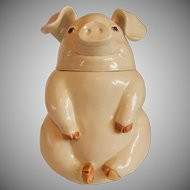 Fitz and Floyd Porky Pig Cookie Jar 1976