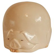 Fitz and Floyd Porky Pig Bank