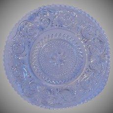 Duncan & Miller Sandwich Crystal Dessert Plate