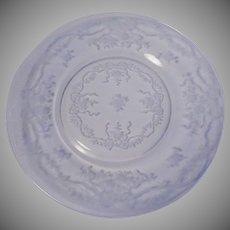 Fostoria Glass Crystal Romance Plate