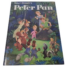 Walt Disney's Peter Pan A Big Golden Book