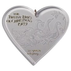 Hallmark Keepsake Twelve Days of Christmas Ornament