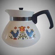 Corning Ware Country Festival Friendship Teapot