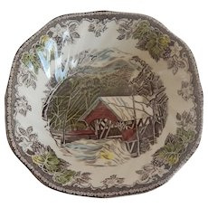 Johnson Bros. Friendly VIllage Cereal or Soup Bowl