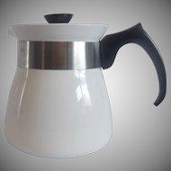 Corning Ware Cookmates Just White Teapot