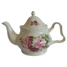 Formalities Baum Bros. Victorian Rose Tea Pot