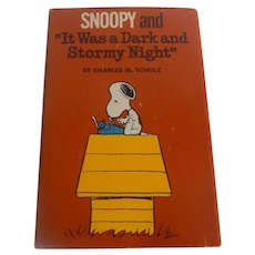"Snoopy and ""It Was a Dark and Stormy Night"" by Charles Schulz"