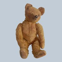 Well Loved Early Mohair Teddy Bear