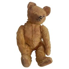 Well Loved Early Mohair Teddy Bear