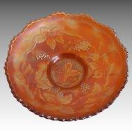 Fenton Glass Marigold Carnival Dish