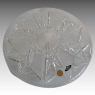 Bohemia Crystalex Trading Crystal Cake Stand
