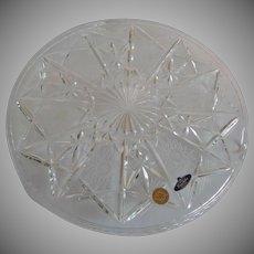 Bohemia Crystalex Trading Crystal Cake Stand