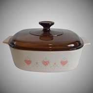 Corning Ware Forever Yours  2 Liter Casserole Dish
