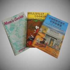 Mom's Cookin' & Hillbilly Cookin 2  & Country Store Cook Books