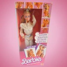 Super Hair Barbie Doll by Mattel 1986