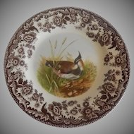 Spode Woodland Lapwing Salad Plate