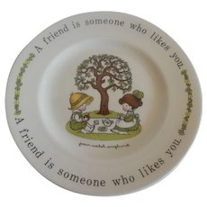 Joan Walsh Anglund Plate Johnson Bros.