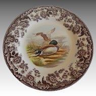 Spode Woodland Mallard Salad Plate