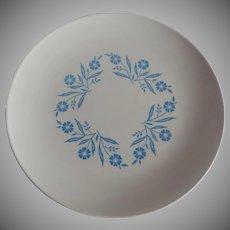 Centura Blue Cornflower Plate Corning Ware