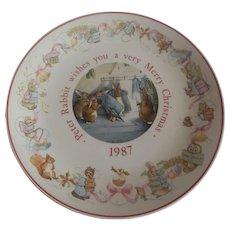 Wedgwood Beatrix Potter Peter Rabbit Plate