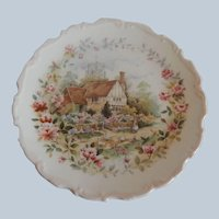 Royal Albert Summer Plate From The Cottage Garden Year Series